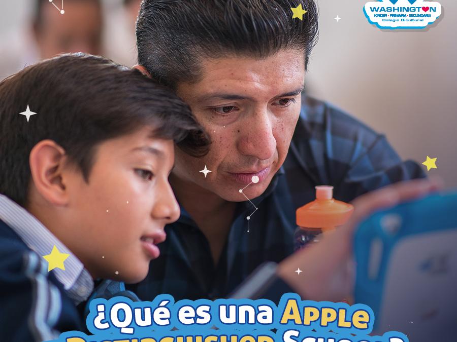 ¿Qué es una Apple Distinguished School?